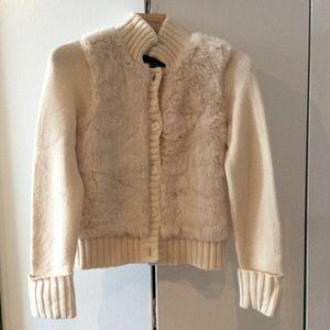 Brand new C. wonder fuzzy sweater size small